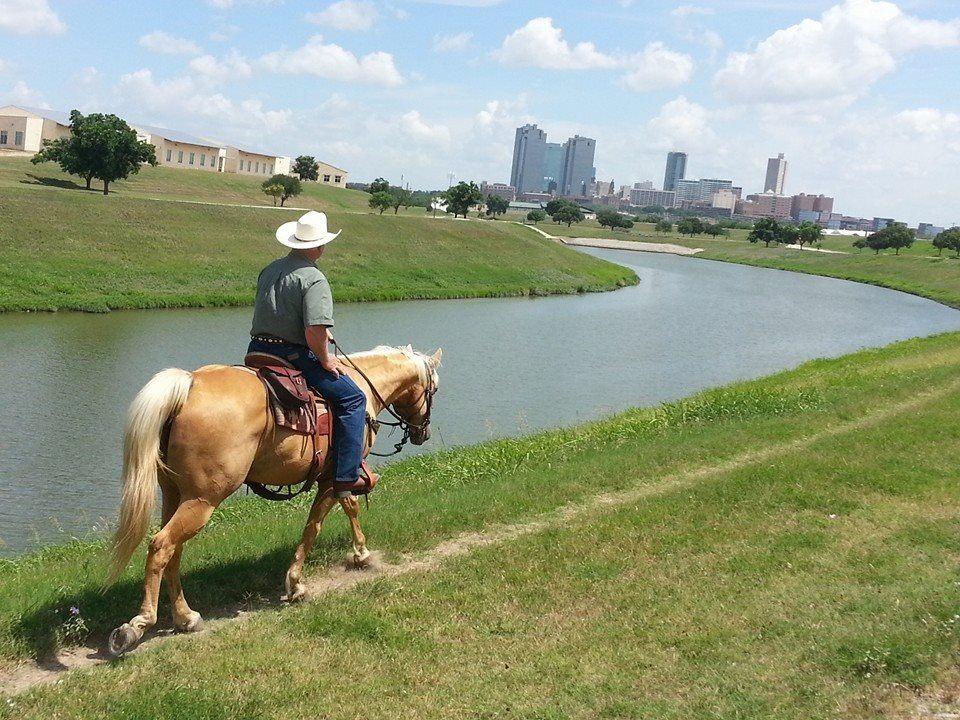 Horseback Riding Along the Trinity Trails | Tarrant Regional Water District