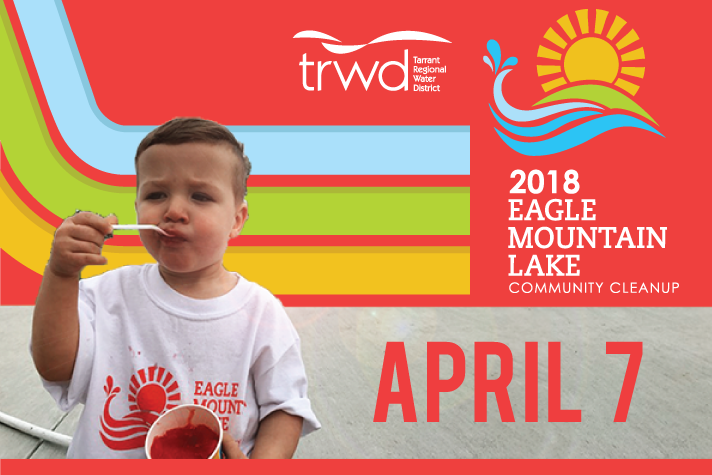 Eagle Mountain Lake Community Cleanup | TRWD