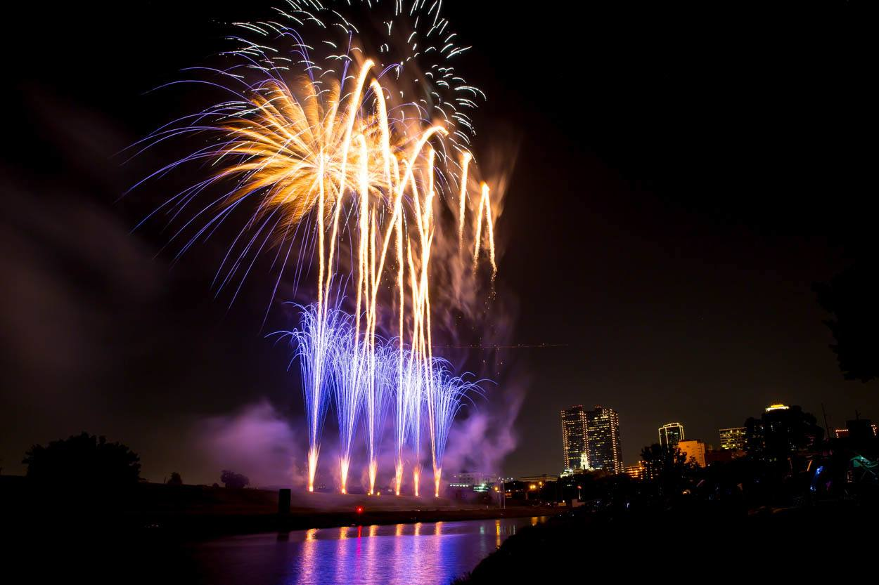Trinity River Fireworks | TRWD