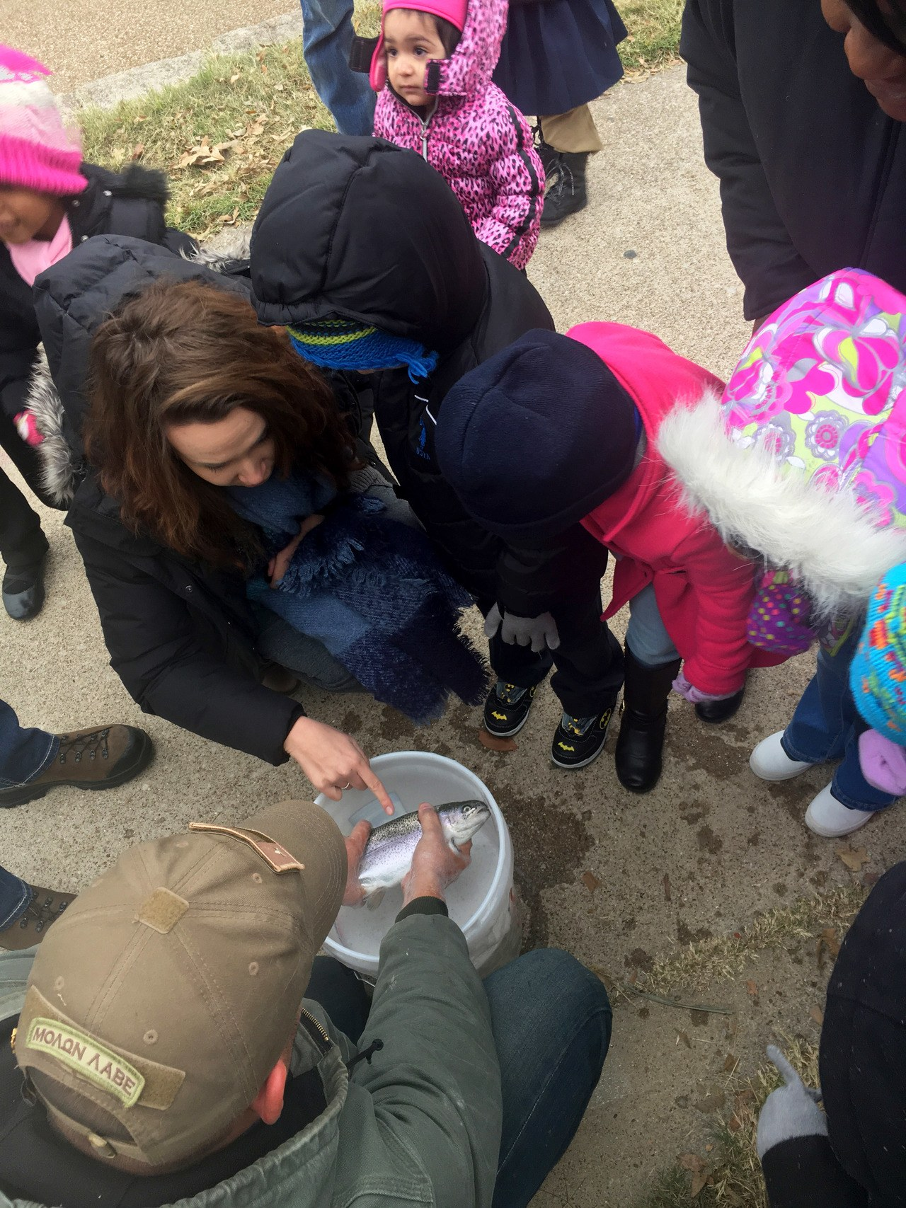 TRWD Trout Release in the Trinity River Creates Opportunity for Fishing and Education