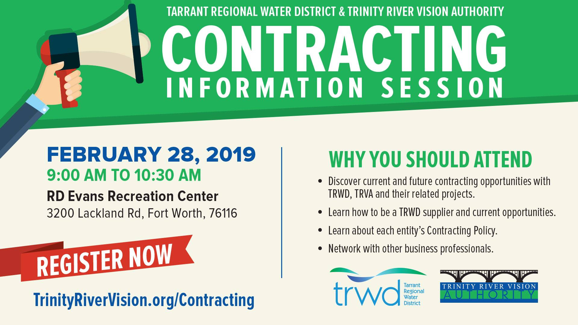 TRWD Contracting Info Session