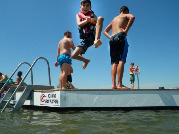 Cool off on the Lake this Summer!