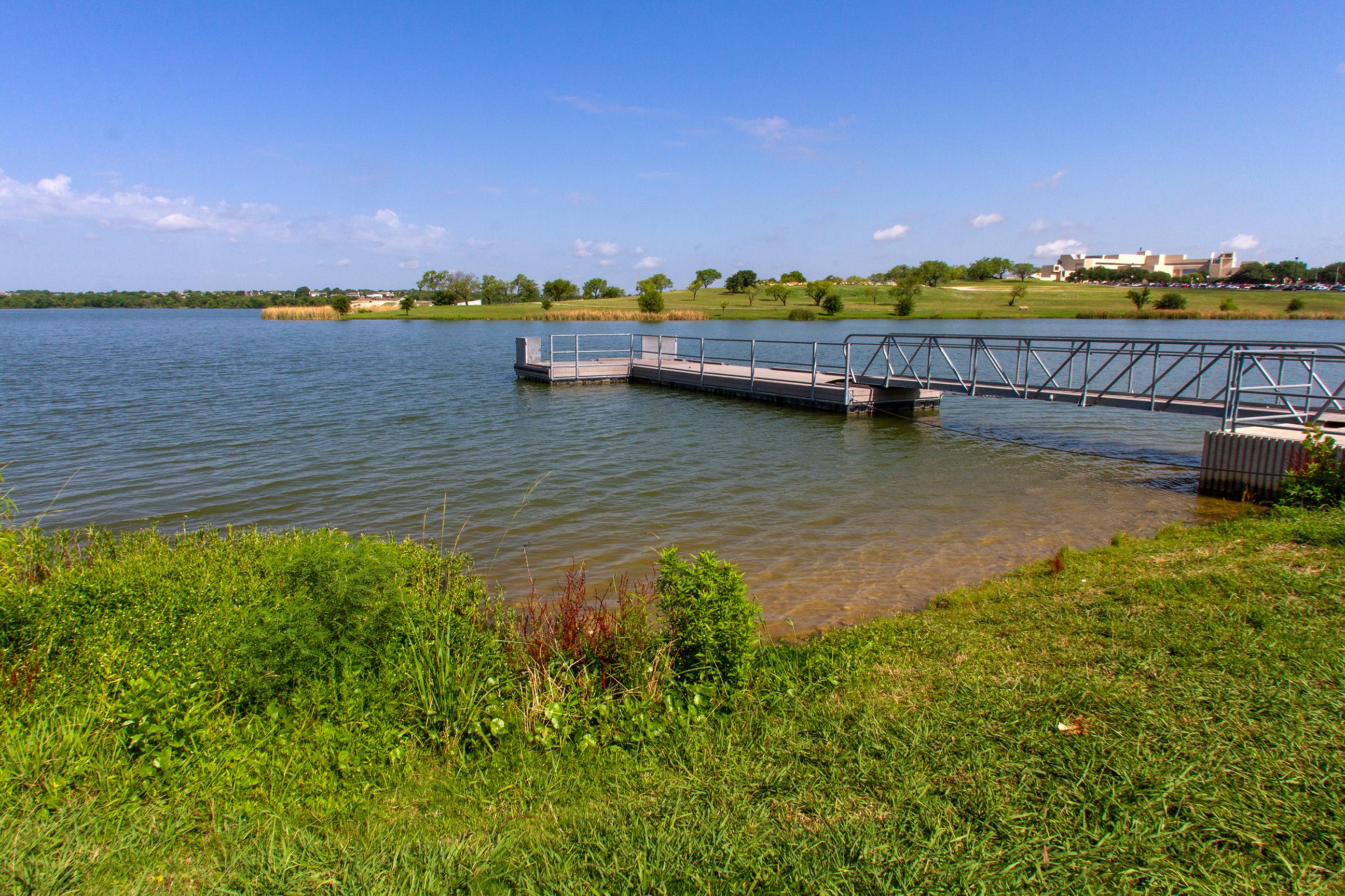 Marine Creek offers peaceful recreation